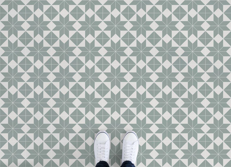 Brittany Tile Effect Vinyl Flooring Victorian Tiles Vinyl Flooring