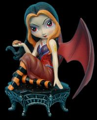 Vampires - Gothic Vampire Fairy Collection by Jasmine Becket-Griffith