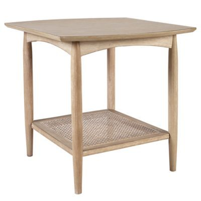 Ink Ivy Kelly End Table In Light Brown Wood End Tables