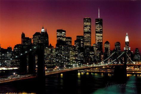 New York New York Brooklyn Bridge Posters At Allposters