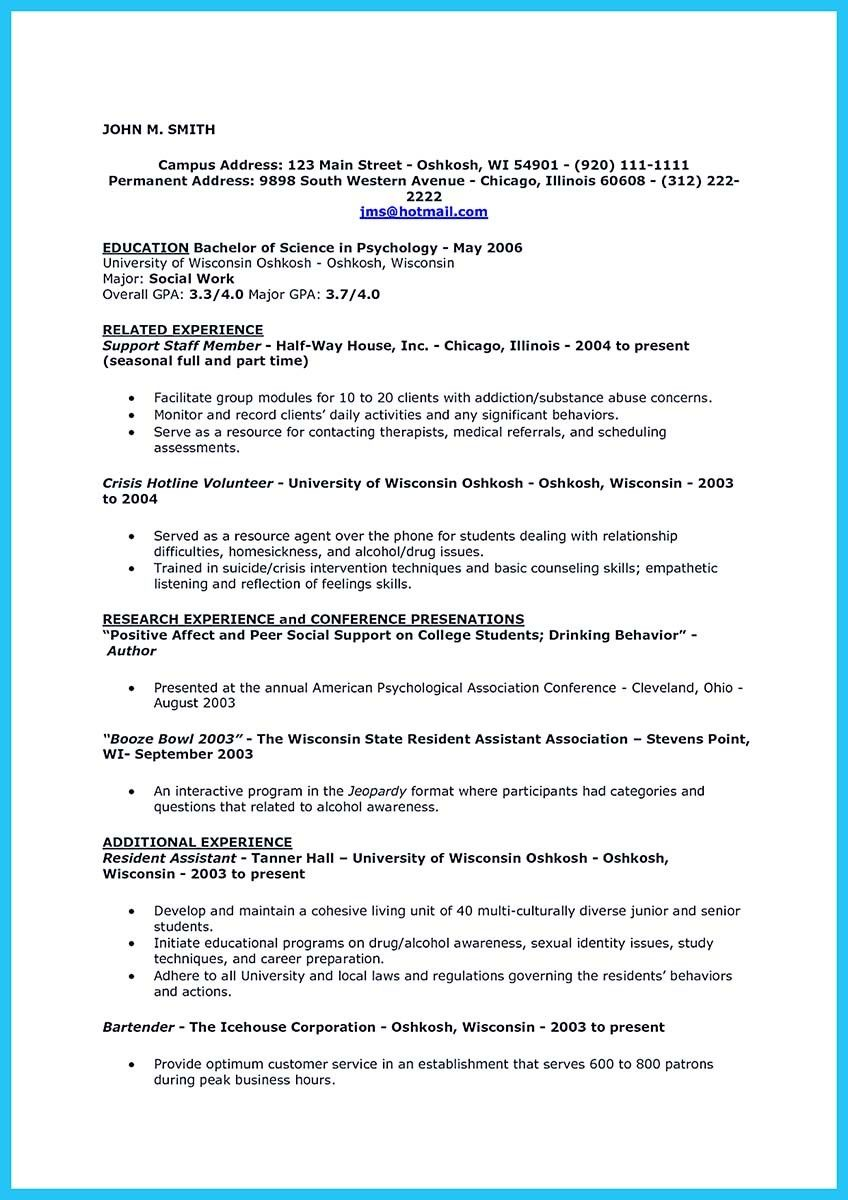 Awesome Impressive Bartender Resume Sample That Brings You To A Bartender Job Check More At Http Snefci Org Impressive Bartender Resume Sample That Brings Yo