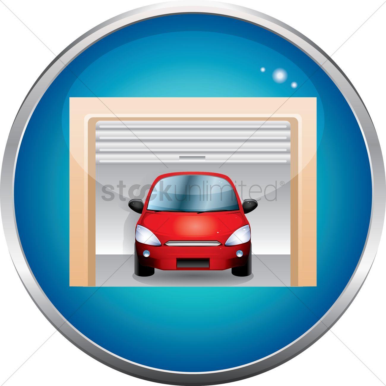 Car Garage Vectors Stock Clipart Sponsored Garage Car Vectors Clipart Stock Affiliate In 2020 Black White Photos Photo Black Abstract Photos