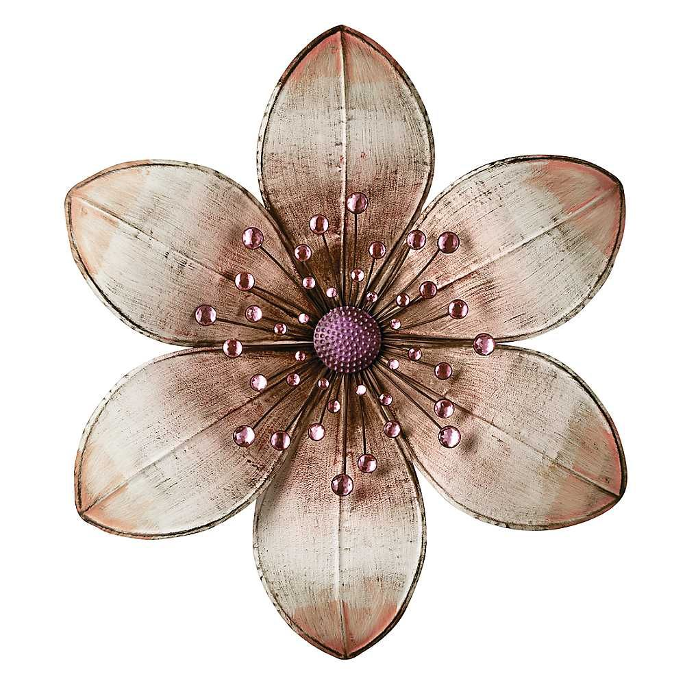 Metal Flower Wall Art wall flower | willa | pinterest | metal flower wall art, flower
