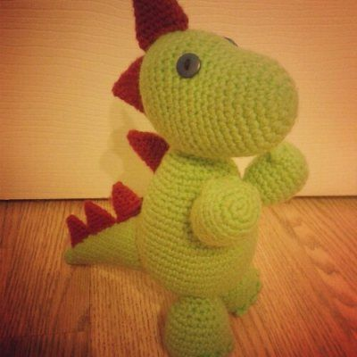 Crochet dinosaur amigurumi toy - perfect for your favourite little ...