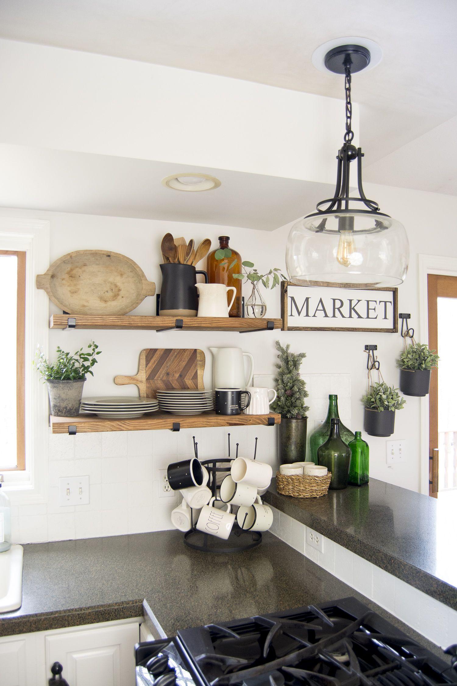 kitchen open shelving home decor kitchen farmhouse kitchen decor cottage style bathrooms on farmhouse kitchen open shelves id=17502
