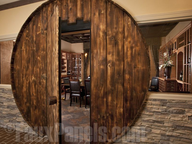 Artificial Stacked Stone Veneer Panels Are Fantastic For Half Wall Ideas In Restaurant Settings