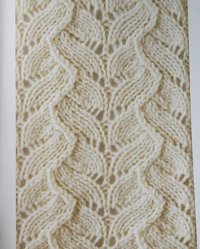 вязание спицами японские ажурные узоры и схемы