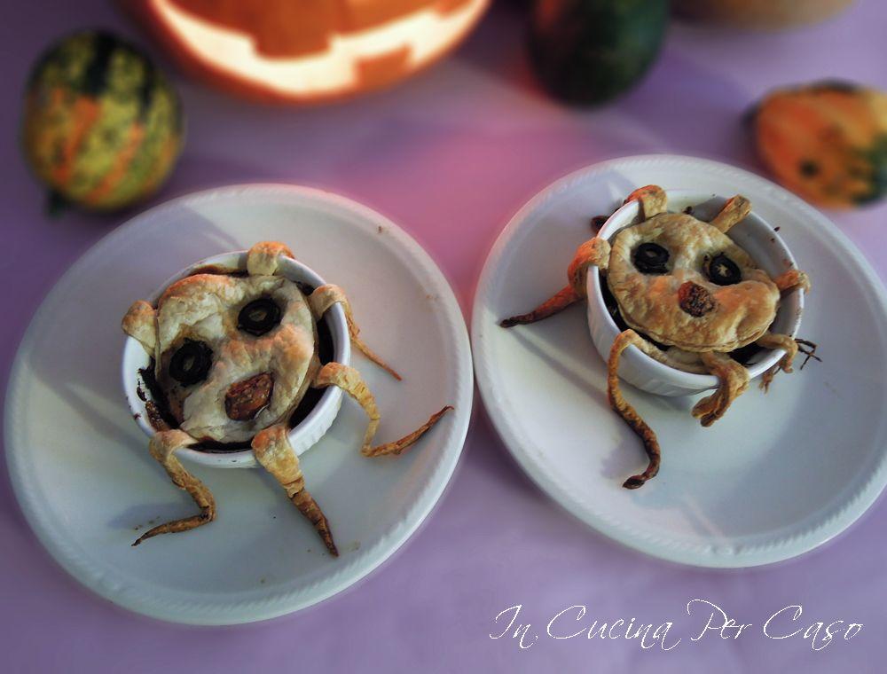 tortini di verdure ricetta per Halloween in cucina per caso ...