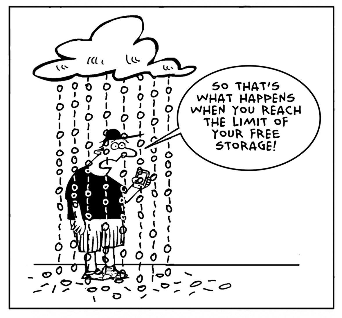 Cloud Storage Overload Acomputers