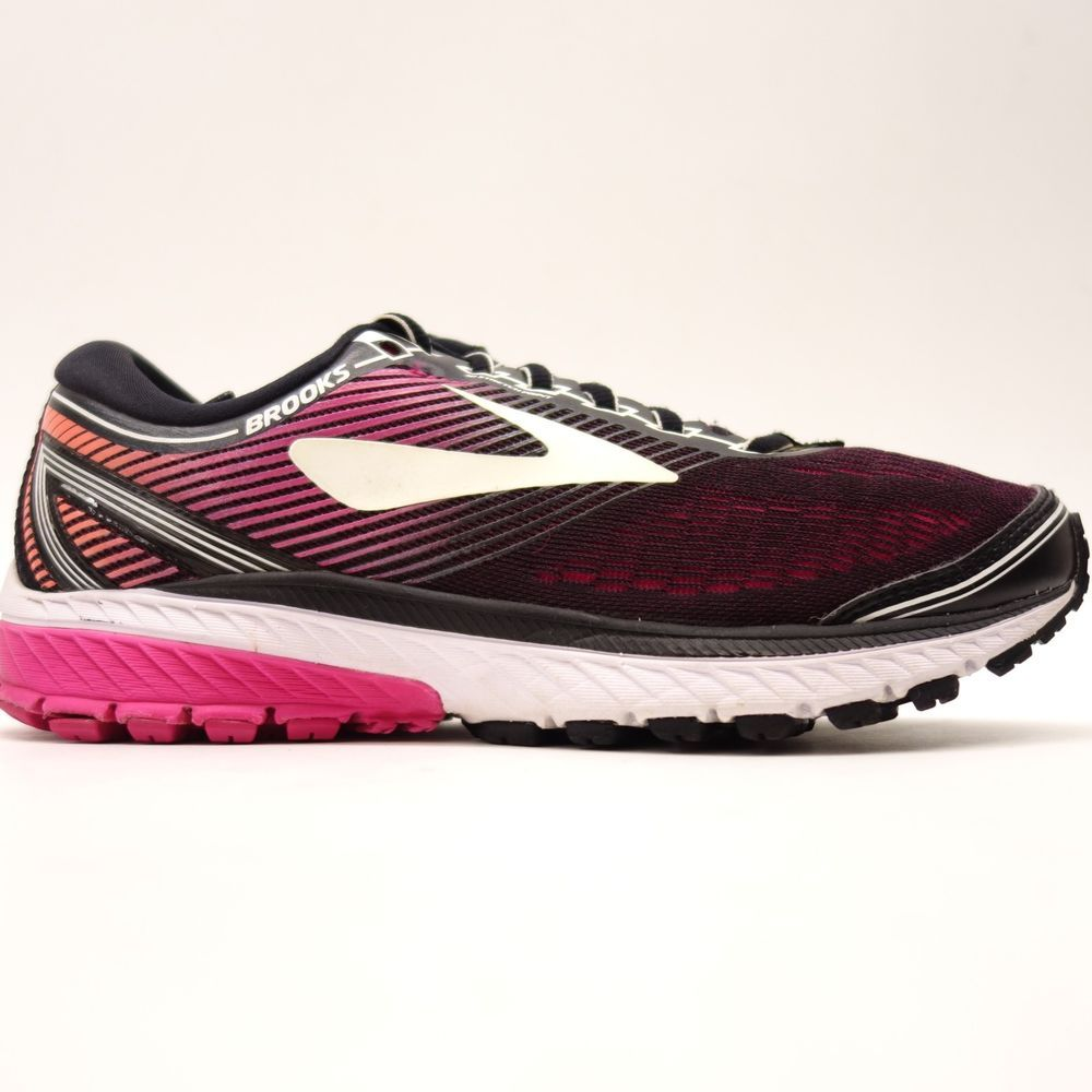1bc4a99eef5 Womens Brooks Ghost 10 Mesh Cushioned Trail Running Athletic Shoes Size 8  Wide  Brooks