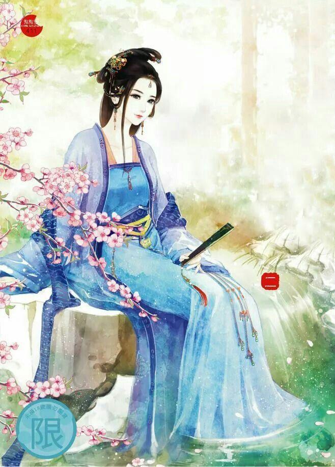 Vintage Chinese lady. Nghệ thuật nhật bản, Drawing, Anime