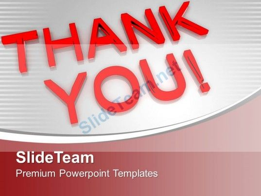 Thank You Business Concept Powerpoint Templates Ppt Themes And