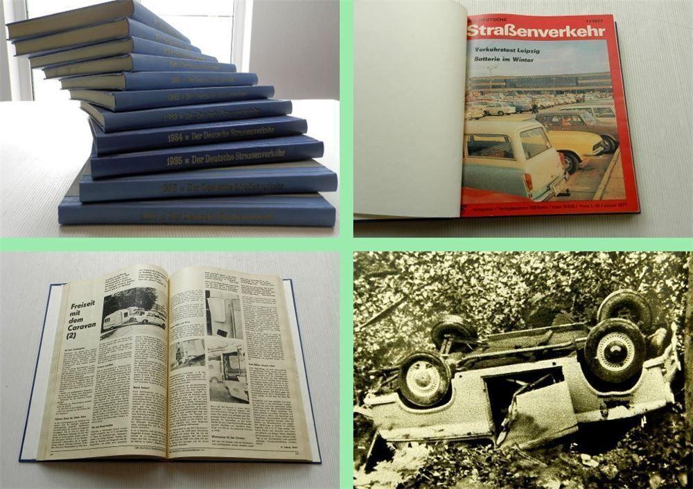 Der Deutsche Straaenverkehr Jahrgang 1977 Bis 1987 Zeitschrift Gebunden Autos Und Motorrader Jahrgang Zeitschriften