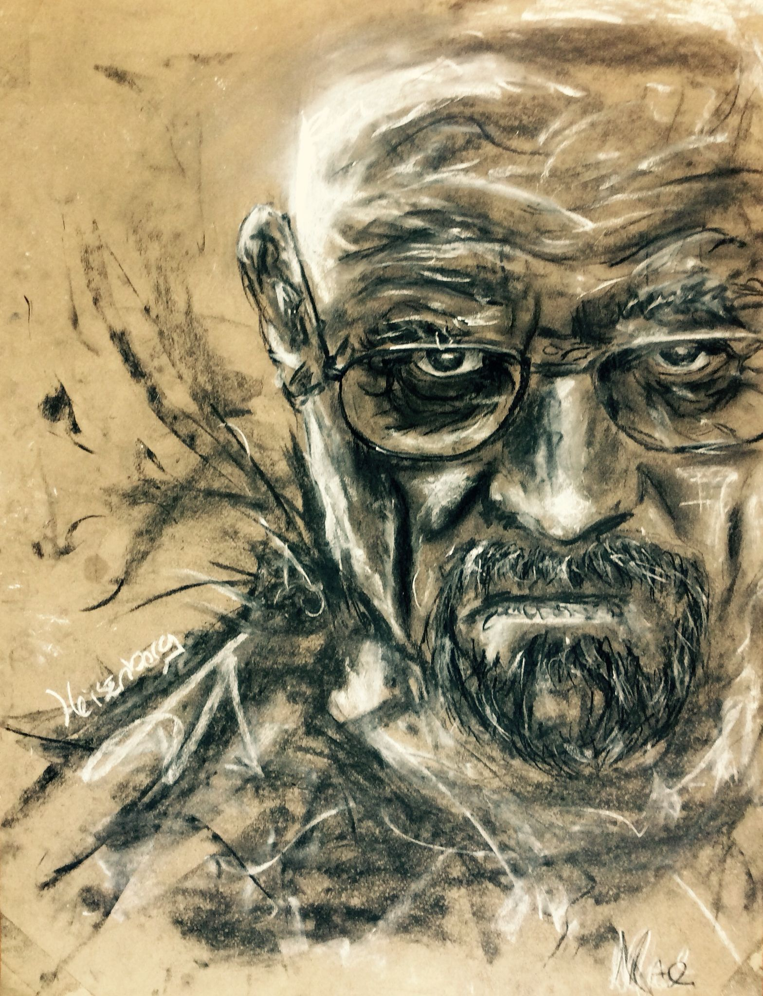 Walter White heisenberg breaking bad - Max de Haan