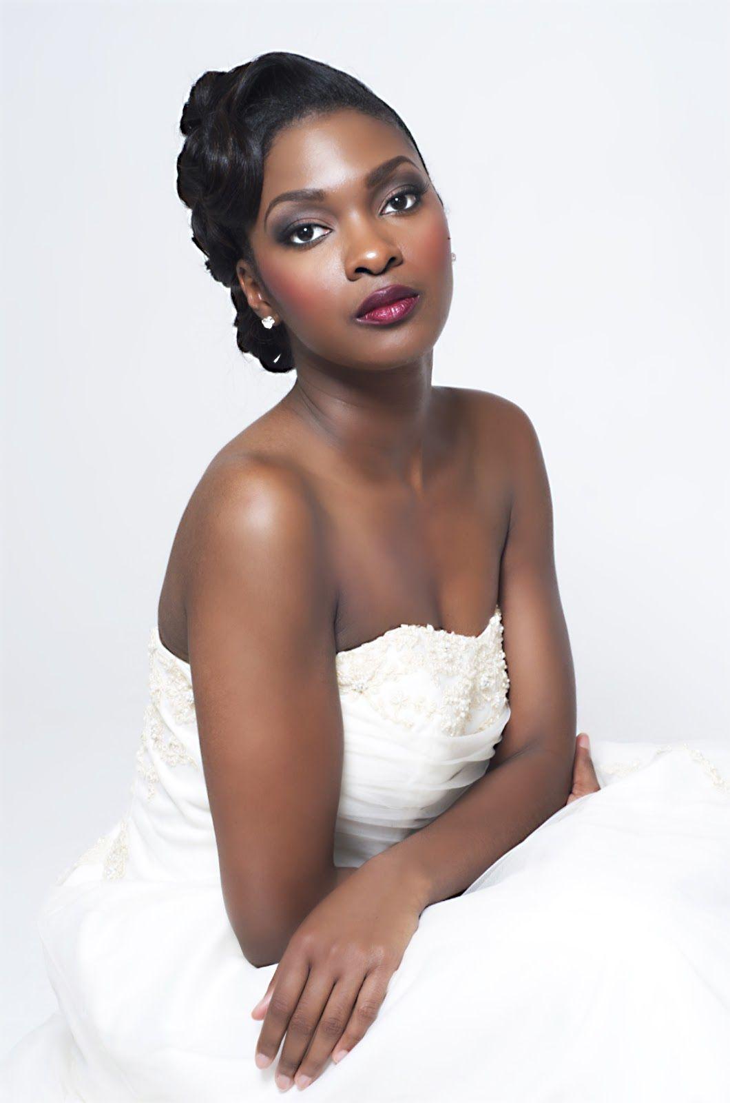 Imelda Of Beauty Boudoir Black Bride Makeup Bellanaija Weddings 1