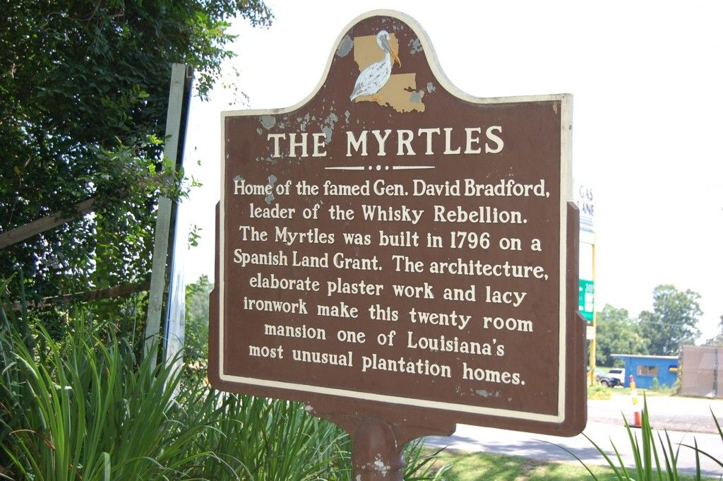 The Myrtles, St. Francisville, West Feliciana Parish