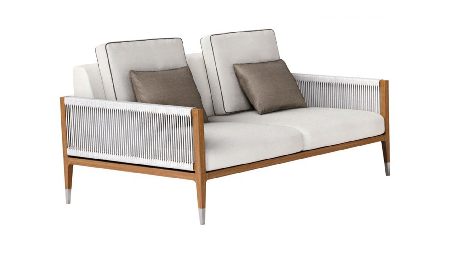 Buy Smania Amalfi 2 Seater Outdoor Sofa Online At Luxdeco Discover Luxury Collections From The World 39 S With Images Outdoor Sofa Outdoor Furniture Design Furniture