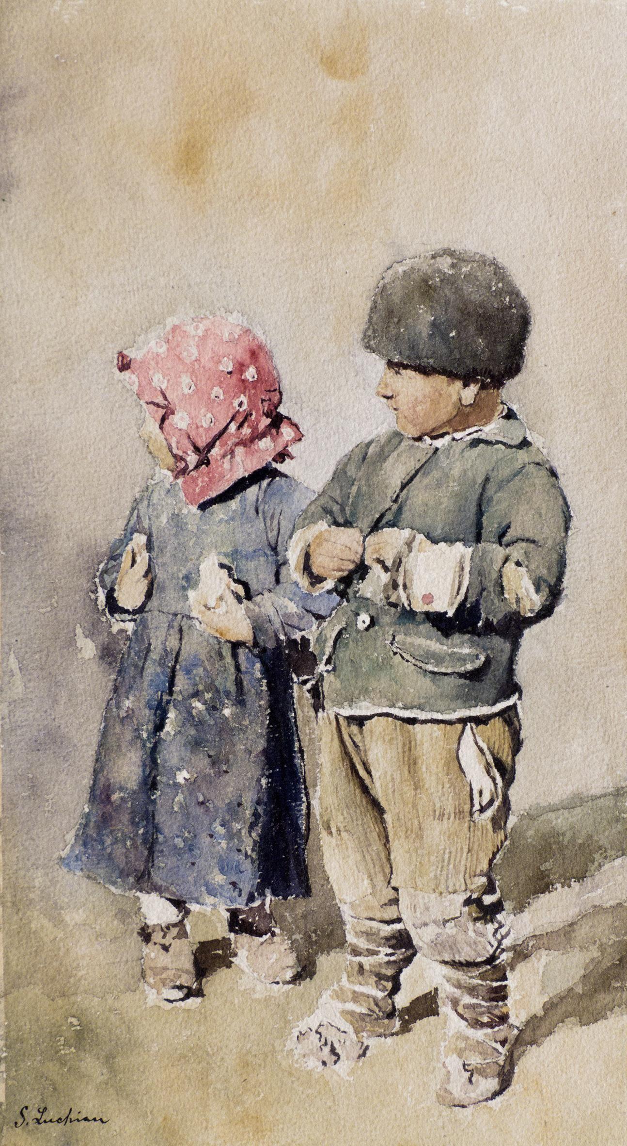 In Lumea Artei Lui Stefan Luchian Watercolor Art Art