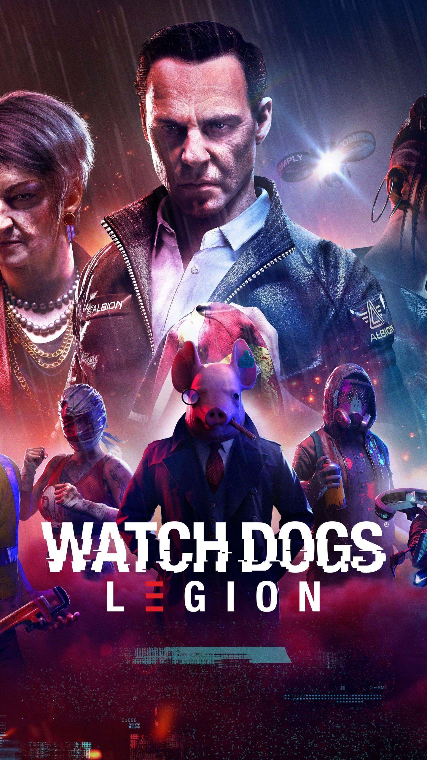 Watch Dogs Legion 2020 Game Poster 4k Ultra Hd Mobile Wallpaper Fotos Fotos De Paisagem Wallpaper