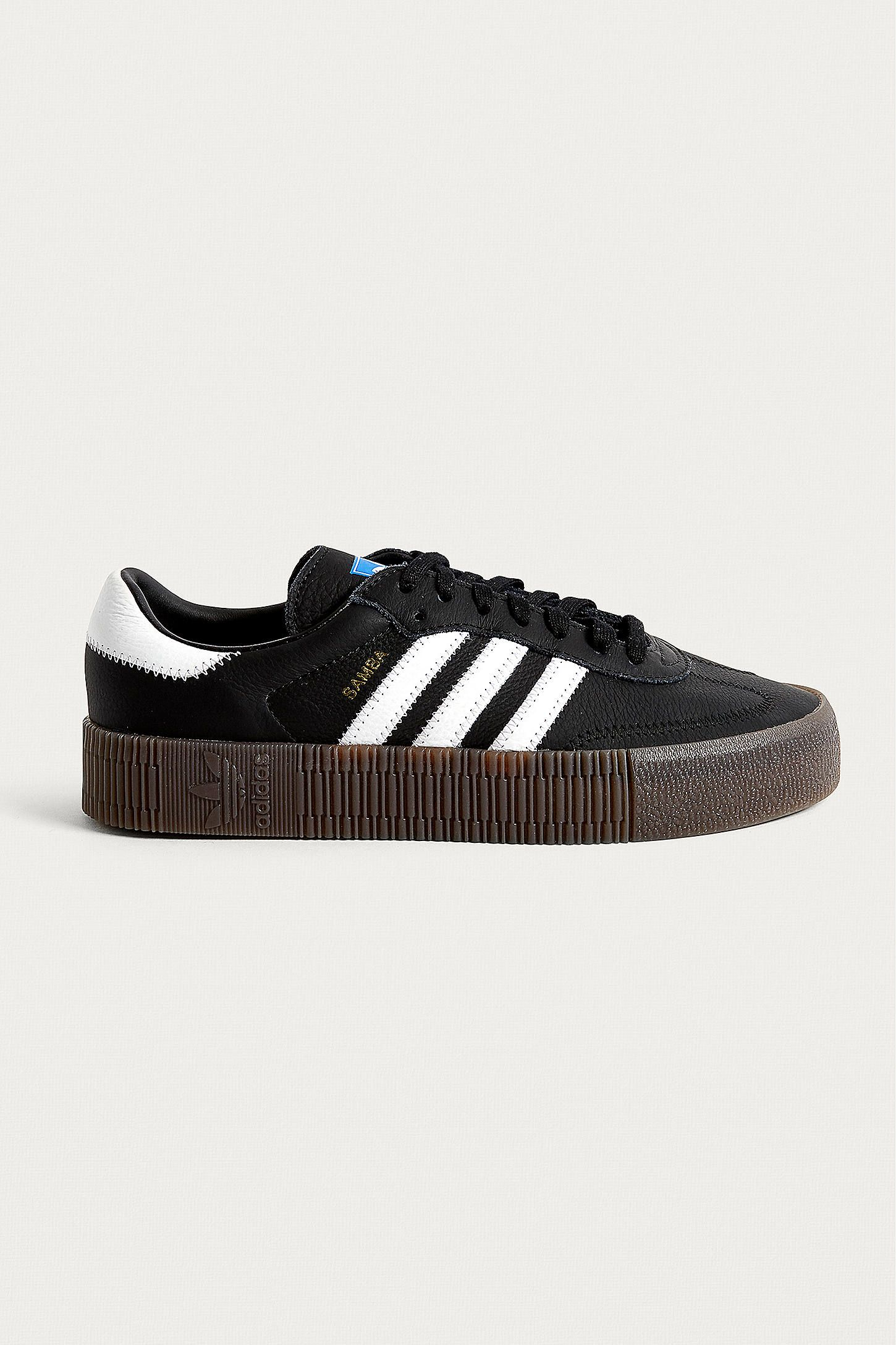 new style 9e8ad 22fd2 adidas Originals Samba Rose Black Trainers  Urban Outfitters