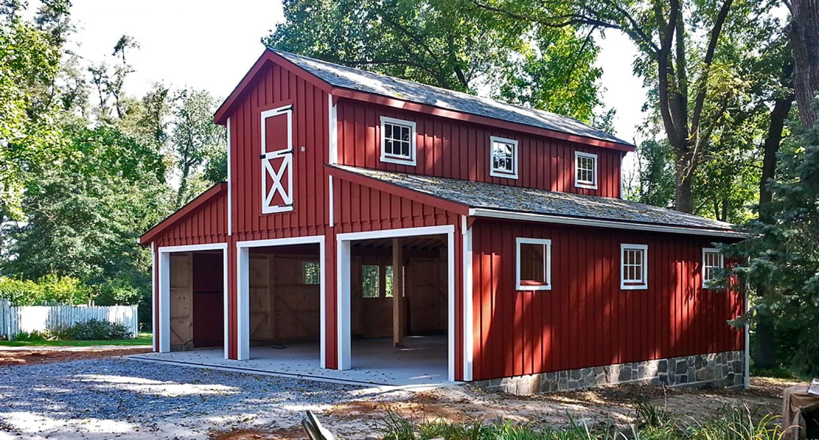 Related image garages pinterest barn apartments and for Monitor style barn plans