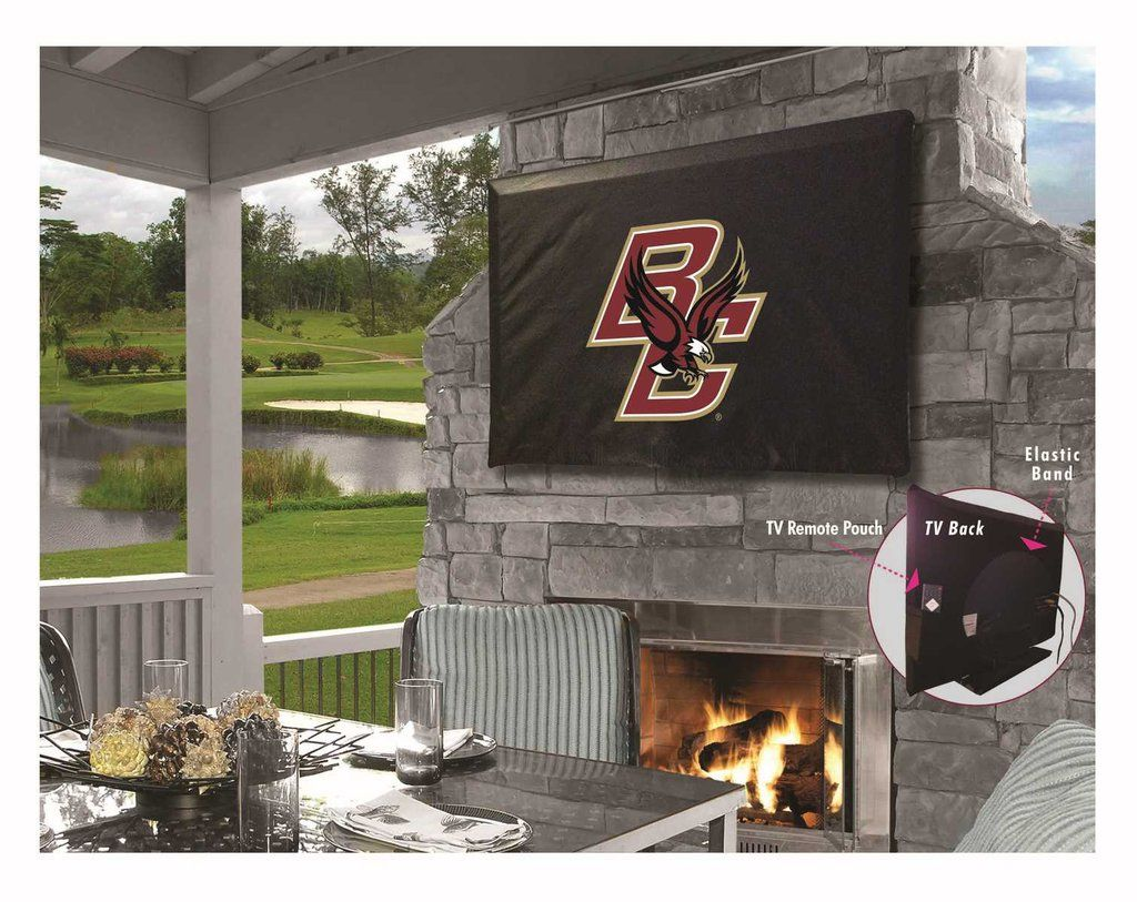 TV Cover Boston College Outdoor tv covers, Outdoor tv