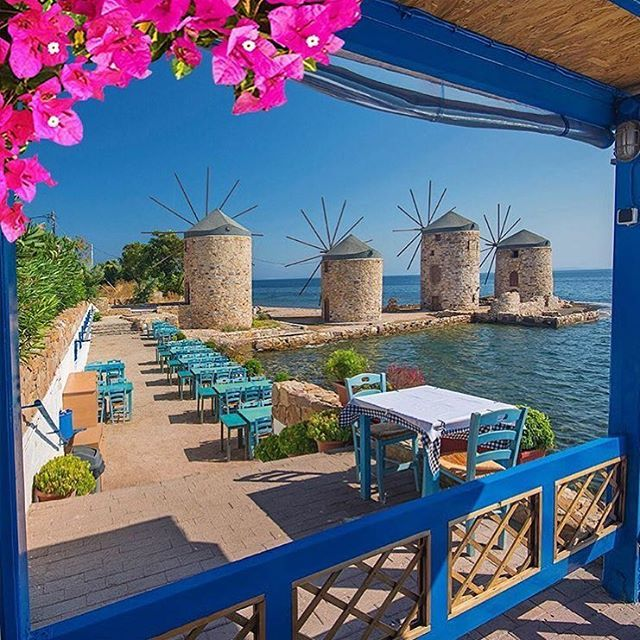 Amazing Places To Go Europe: Location: #chios #greece Photo Credit: @kyrenian Chosen By