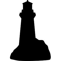 Lighthouse Silhouette Free Svg Silhouette Free Free Svg Split Rock Lighthouse