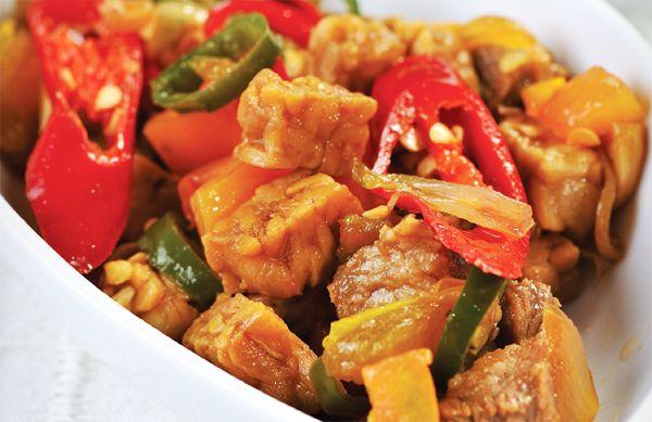 Oseng Tempe Cabe Hijau Resep Masakan Cina Makanan Resep Makanan