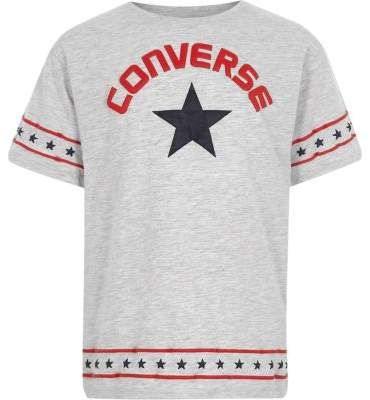 Girls Converse grey lunar rock T shirt | Products in 2019