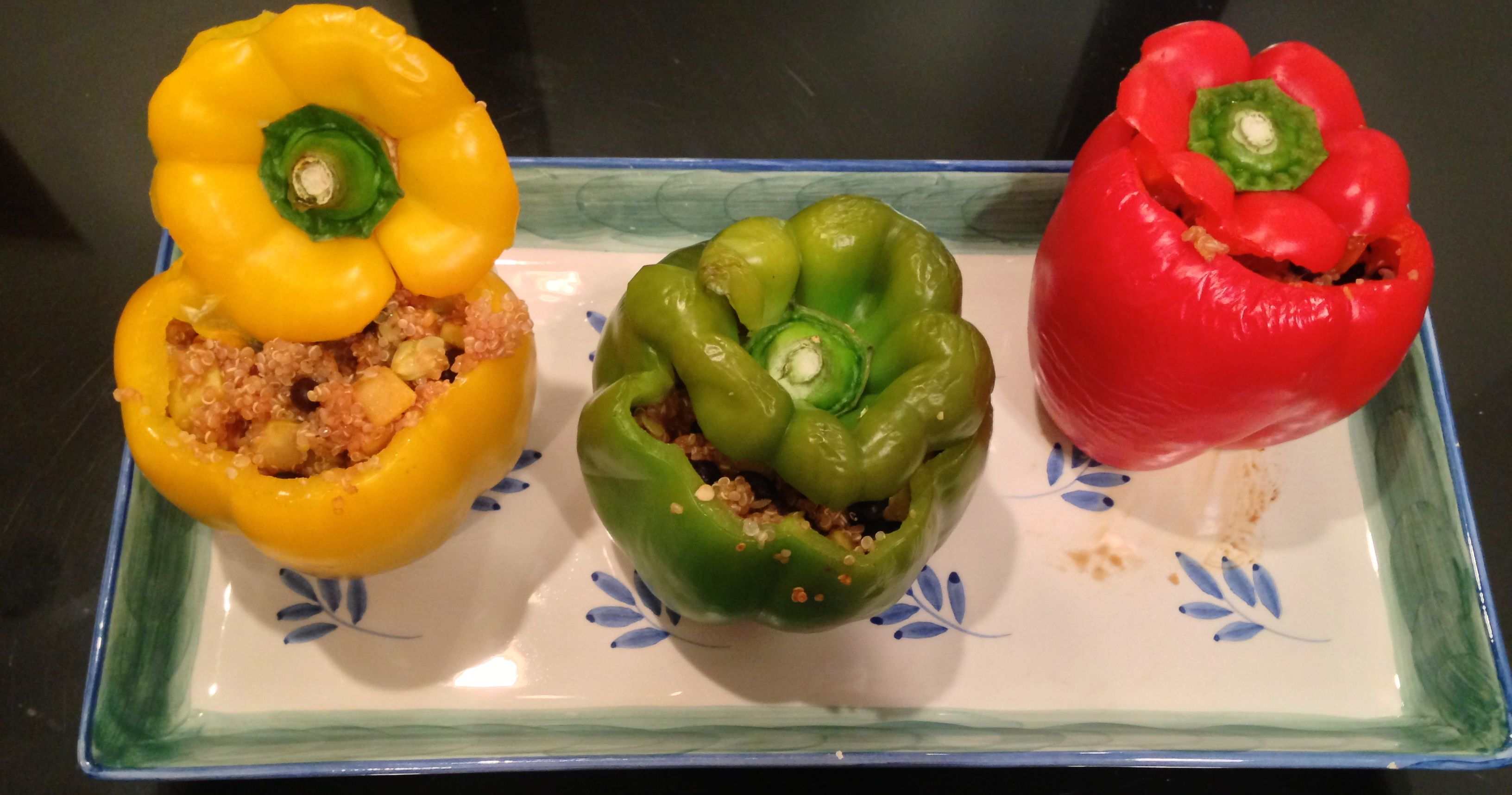 Stuffed Bell peppers with Quinoa.. Gut health recipes