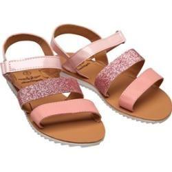 Photo of Board Angels Girls Glitter Sandals Dusky Pink Board AngelsBoard Angels