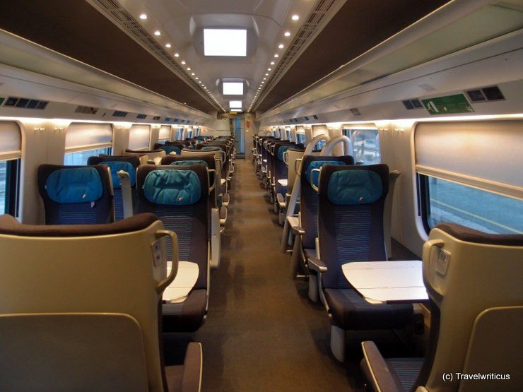 1st class of the Italian highspeed train 'Frecciargento