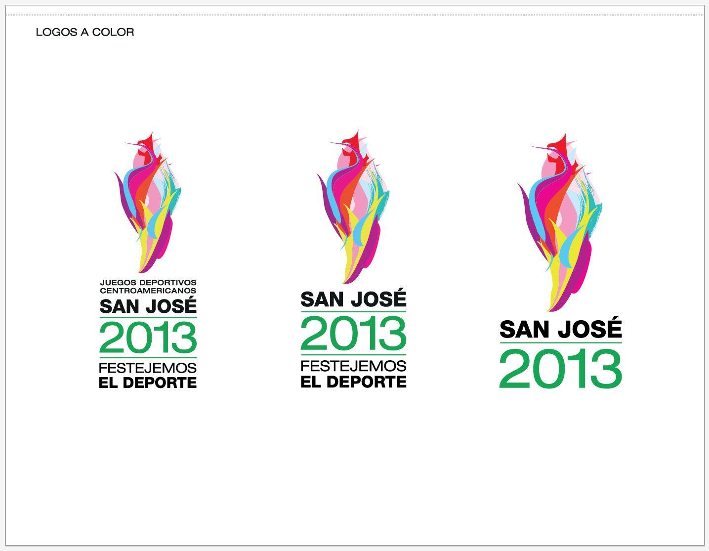Logo Final Juegos Deportivos Centroamericanos San Jose 2013 Diseno