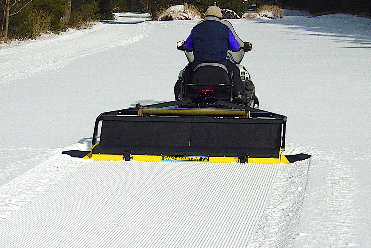 """Home made 65"""" x 96"""" wood trail groomer in 2019   Atv ...  Cross Country Ski Trail Grooming"""