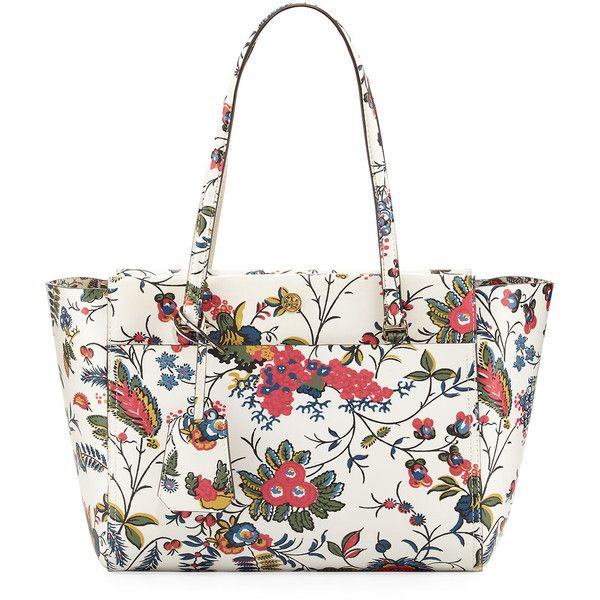 4f72dae5f0b Tory Burch Parker Small Floral-Print Tote Bag (4