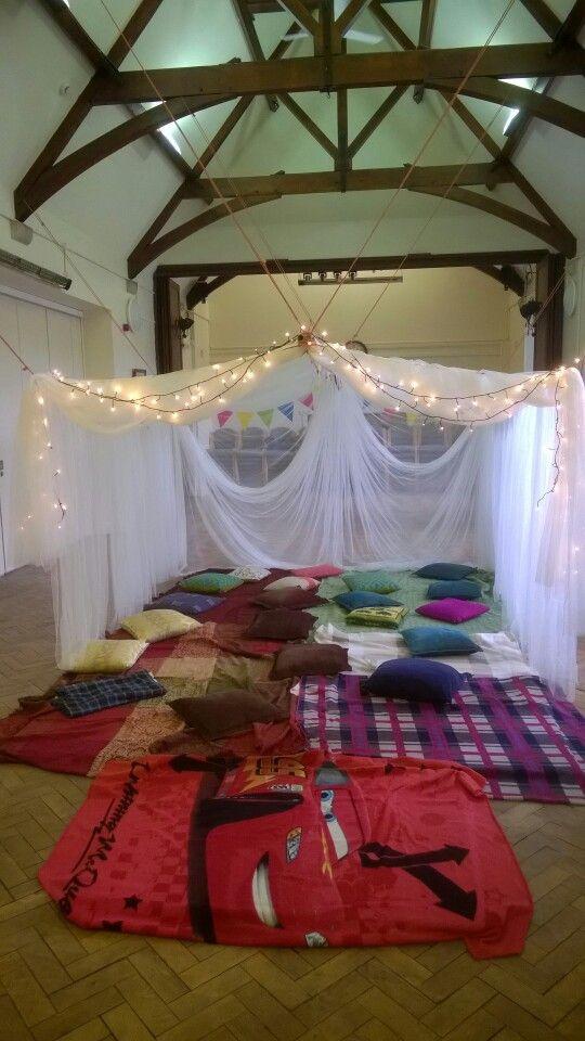 Henry's 6th Birthday Pyjamas Party Tent! | Pyjamas party ...