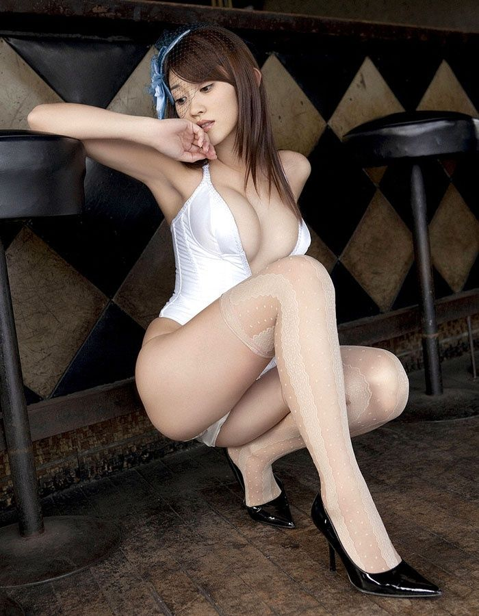 Asian girls in nylon