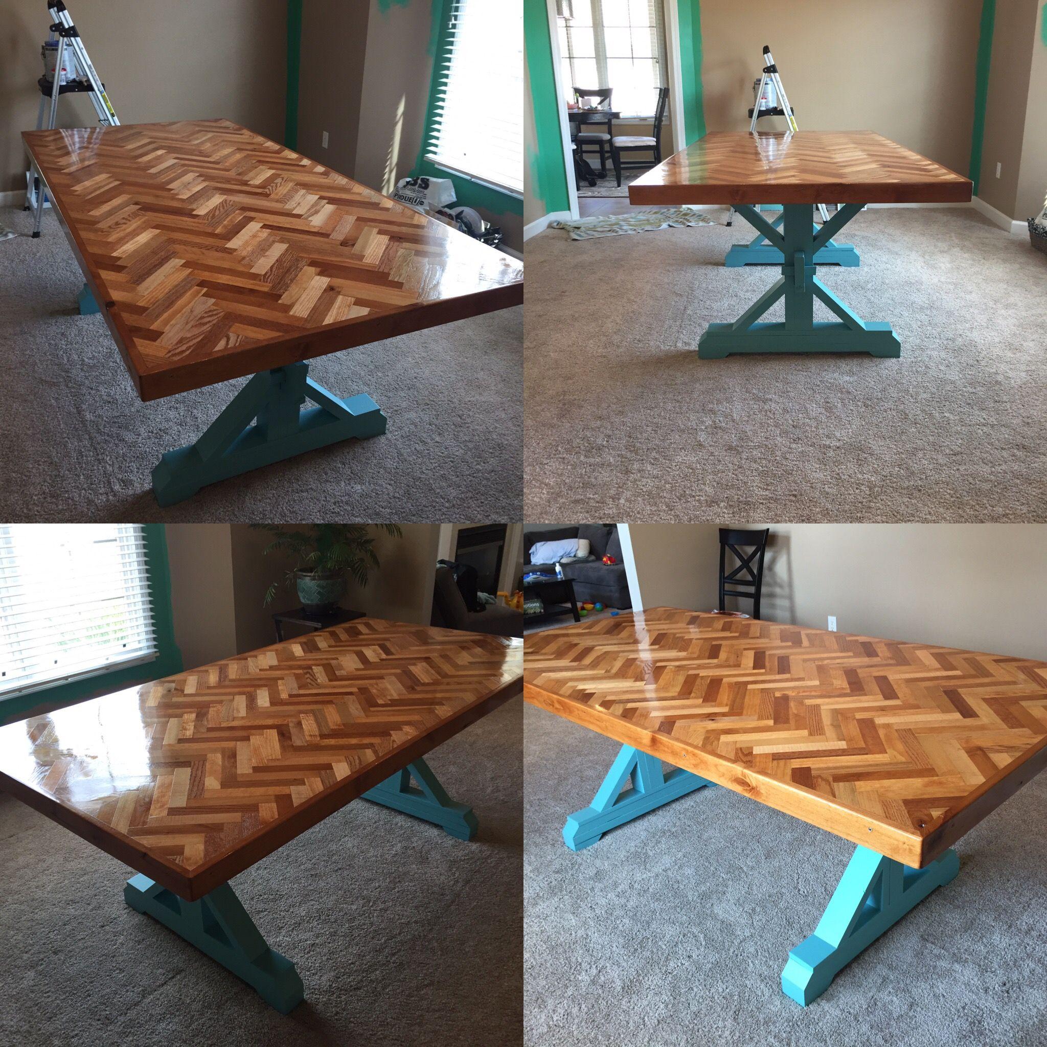 41++ Herringbone farmhouse dining table ideas in 2021