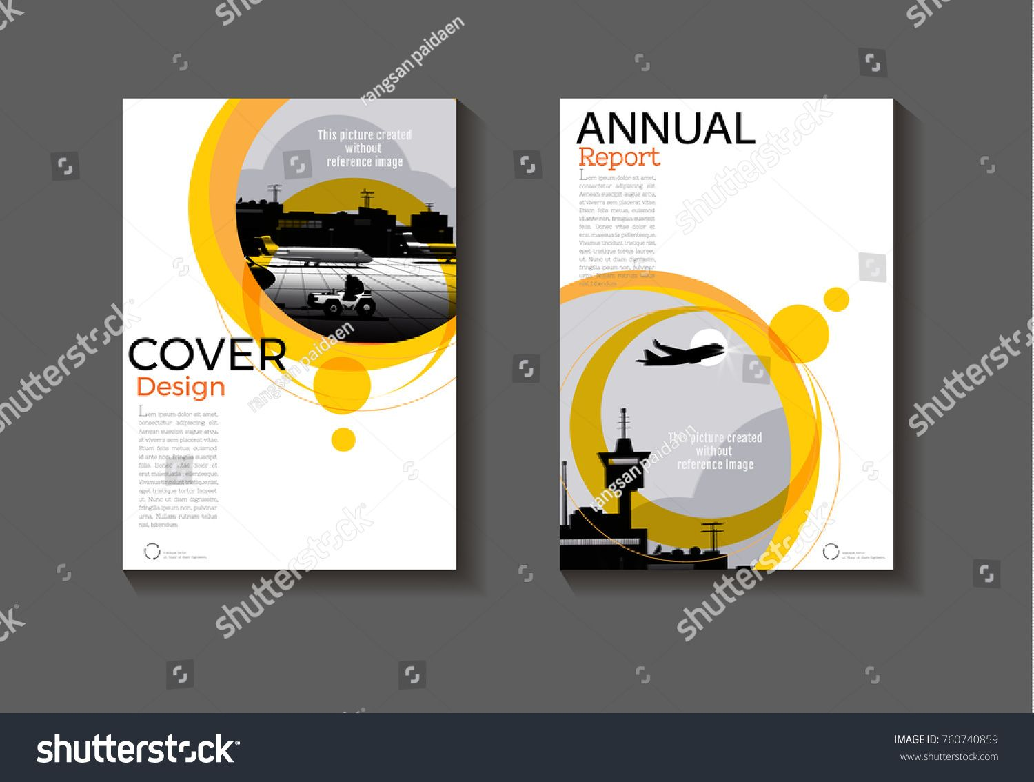 Yellow Circle Modern Background Abstract Cover Design Modern Book Cover Brochure Cover Template Annual Report Magaz Brochure Cover Cover Template Flyer Layout