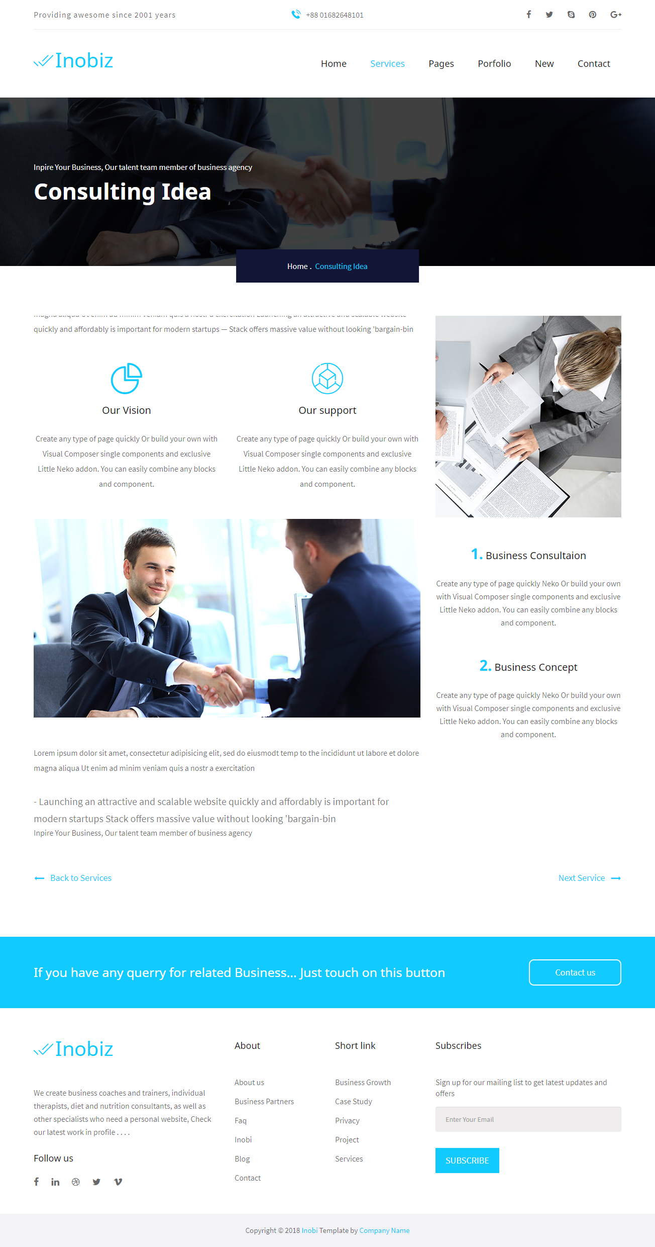 Startup Business and Agency Drupal 8.5 Theme
