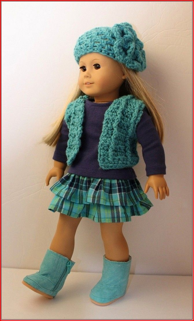 Free Crochet Doll Clothes Patterns For 18 Inch Dolls American