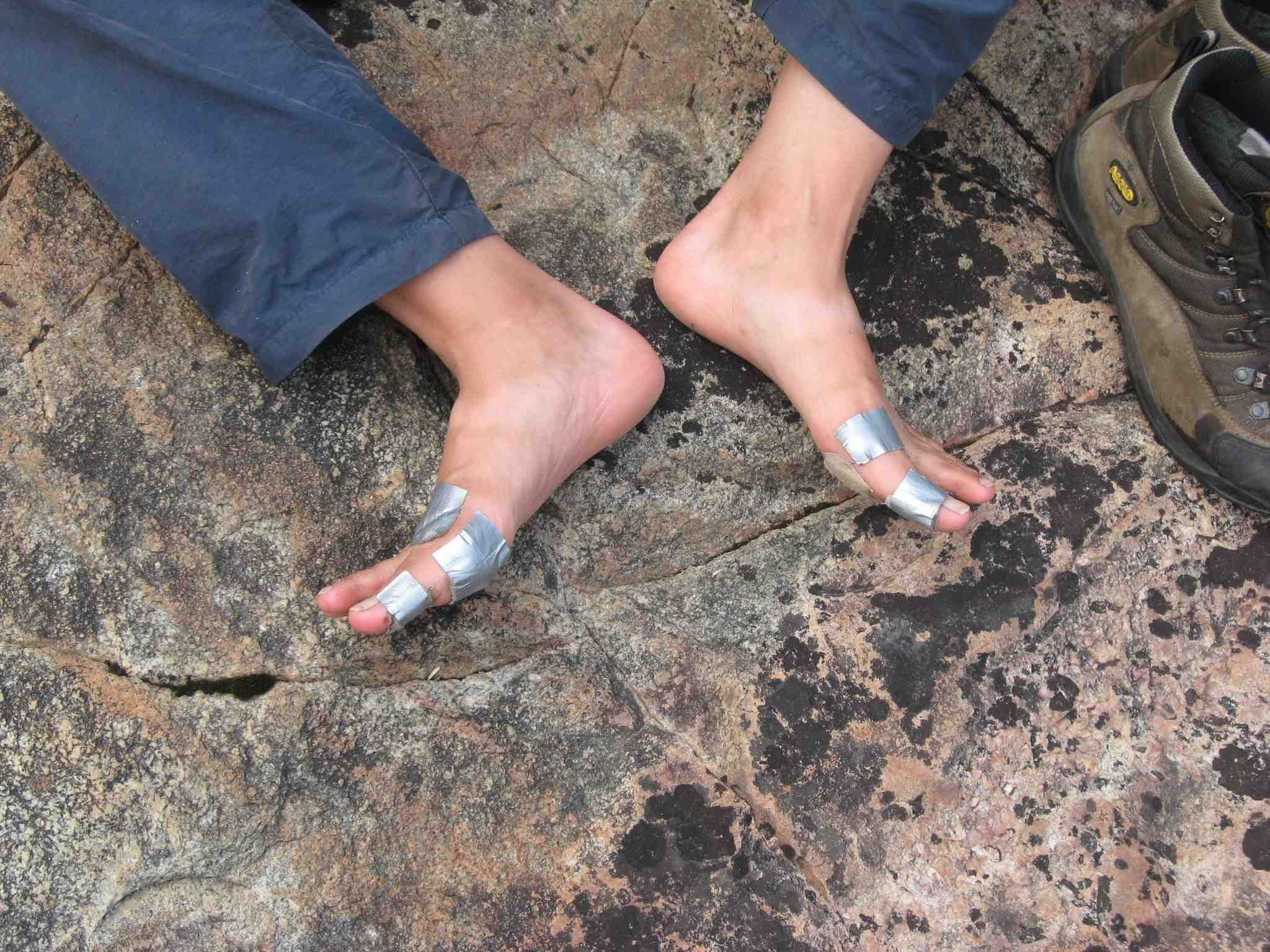 duct tape forever even experienced hikers using good not new