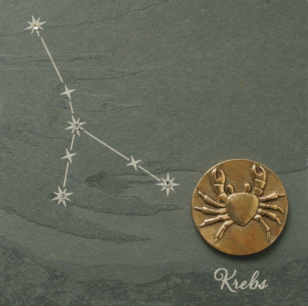 wandrelief sternzeichen krebs 14 5 cm schiefer swarovski zodiacs pinterest. Black Bedroom Furniture Sets. Home Design Ideas