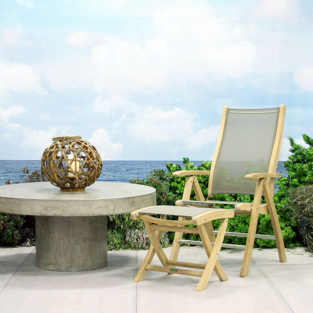 Floating round coffee table outdoor furniture patio