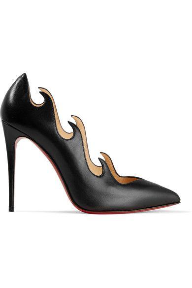 103b2a050e9 CHRISTIAN LOUBOUTIN Olavague 100 leather pumps.  christianlouboutin  shoes   pumps