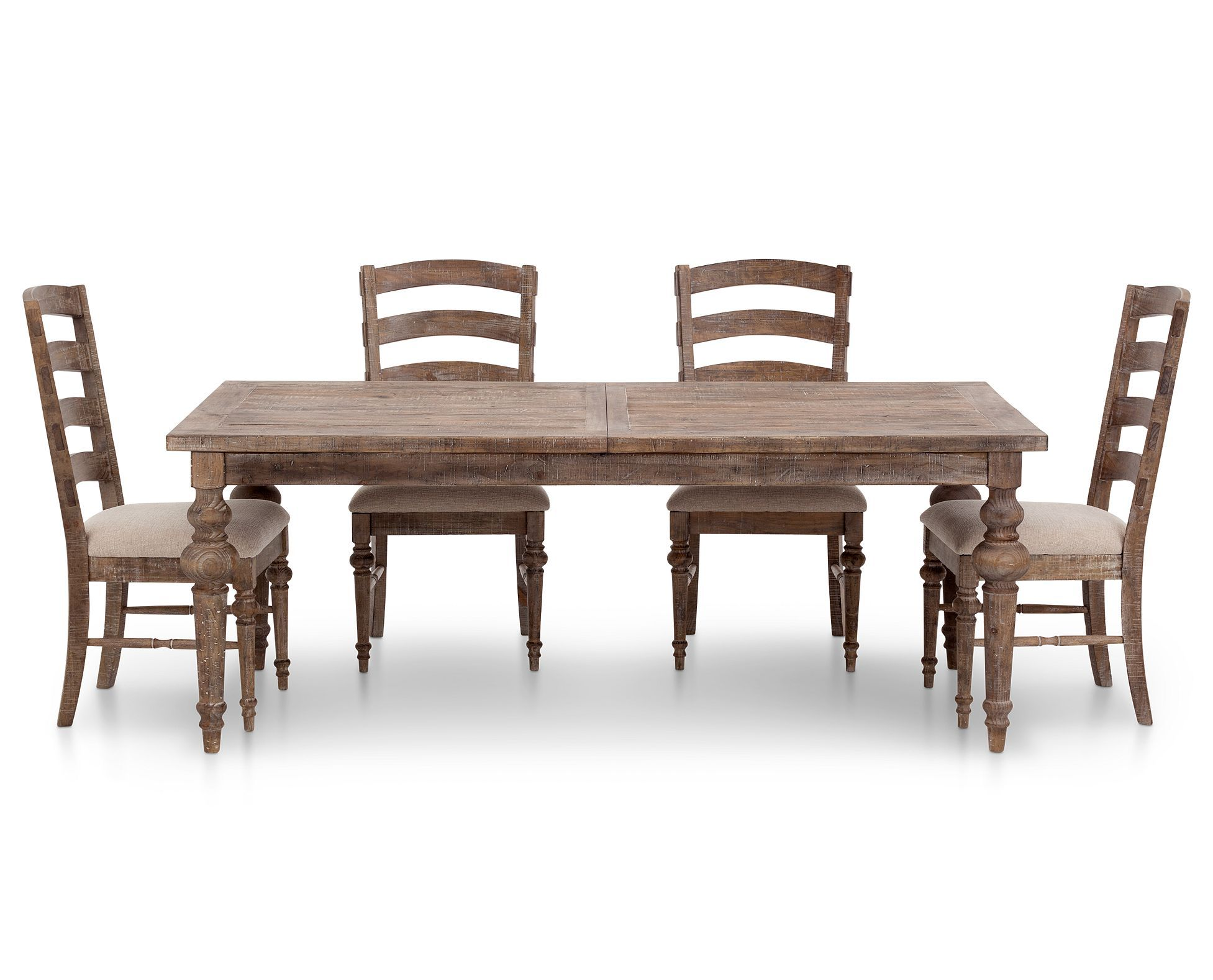 Interlude 5 Pc Rectangle Dining Room Set Rectangle Dining Table