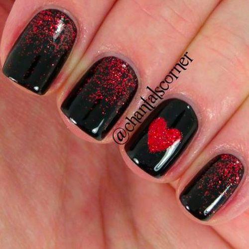 12 Super Cute Valentines Day Nail Designs Gelnagels En Nagel