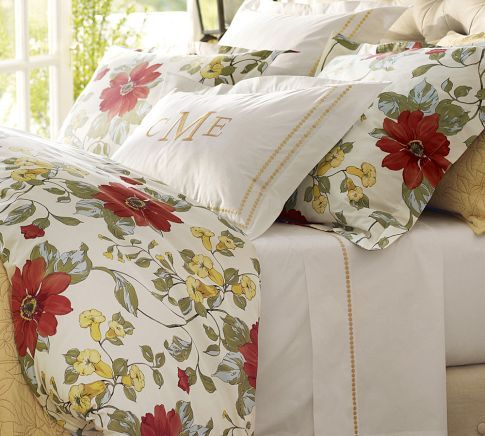 So Pretty Sophia Organic Sateen Duvet Cover Amp Sham