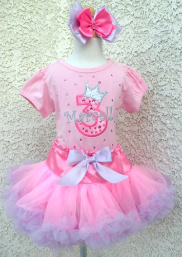 Pink Lavender Crystal Princess - Petti Skirt Outfit
